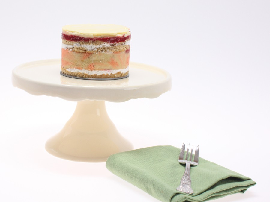 Gâteaux aux Framboises: Raspberry Gâteau
