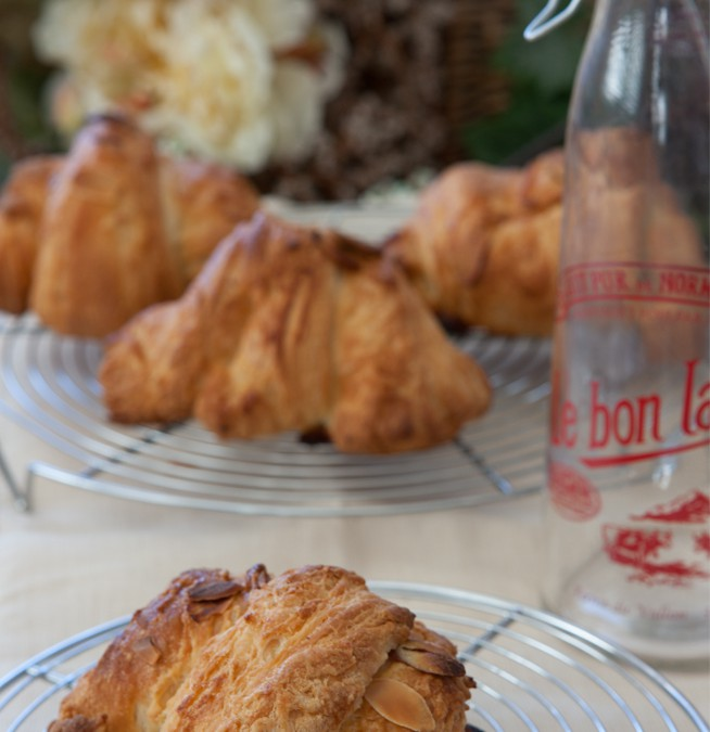 Yummy in My Tummy, Almond Croissants Just for You