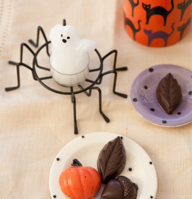 The Halloween Count Down, Homemade Chocolate Candies