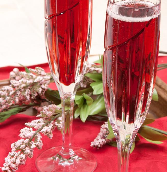 Sydney-Chelle, A Romantic Valentine Cocktail