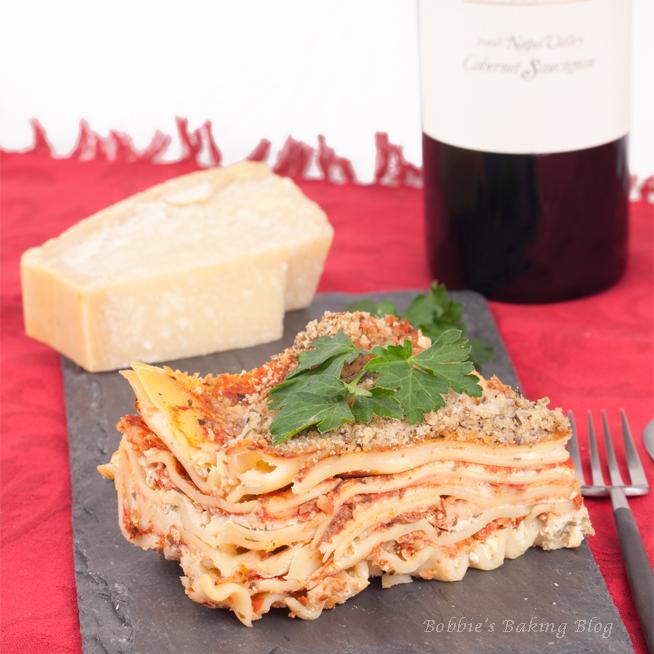 Lasagna, Sydney's Favorite Italian Meal
