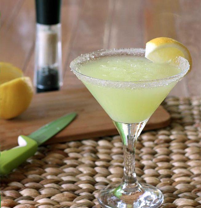 Lemon Martini, Time for the Patio