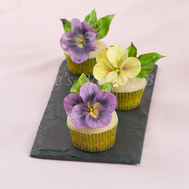 how to make gumpaste pansy
