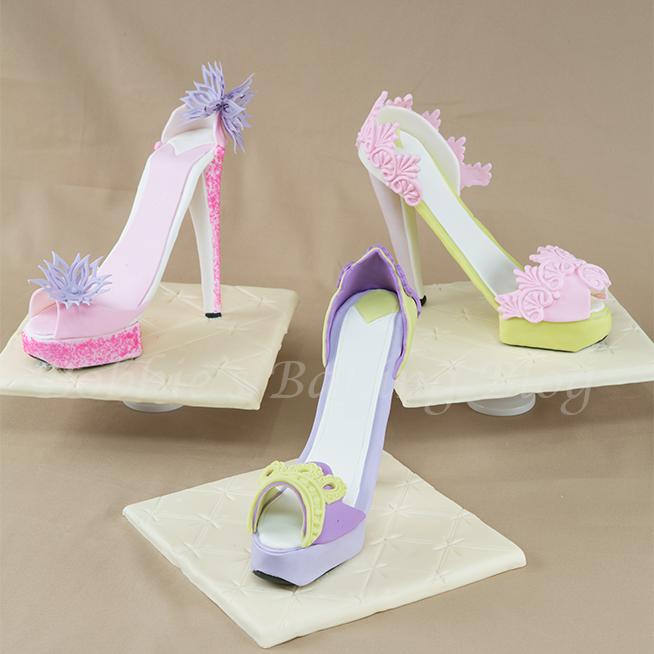 Sugar Paste Designer Stiletto Platform Shoe Fun