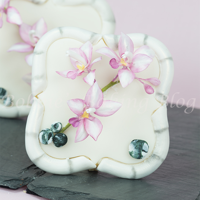 how to make a gumpaste asian ground orchid