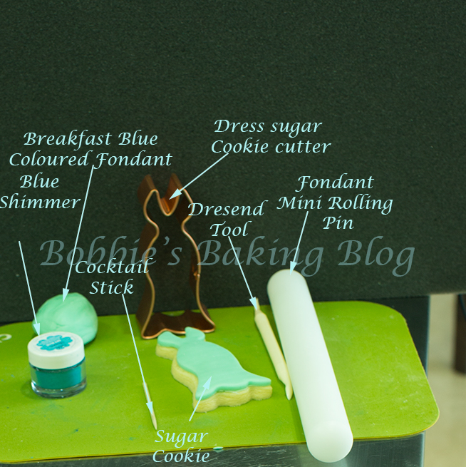 designer fondant fashion technique