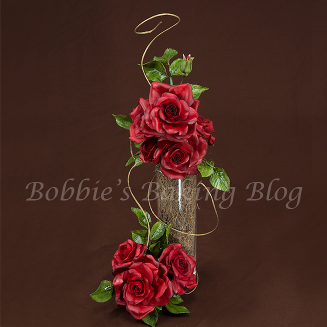 watch this video and learn how to create a sugar rose with alan dun's technique