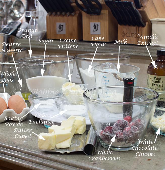 christmas cranberry pound cake recipe-tutorial