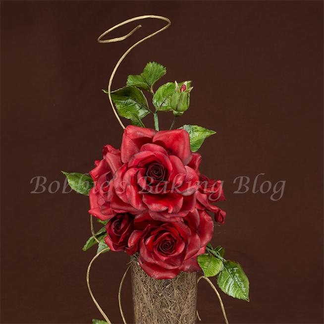 Romantic Long Stem Sugar Rose Video