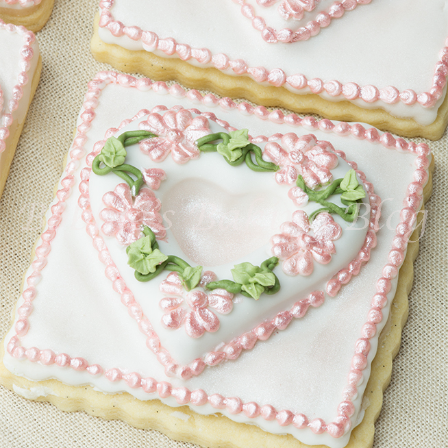 How to scratch pipe on a tufted tufted heart cookie video