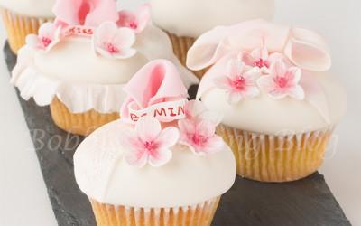 Good Fortune Cherry Blossom Cupcake Tutorial