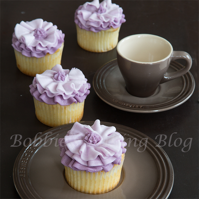 buttercream fashion inspired ruffle cupcake tutorial