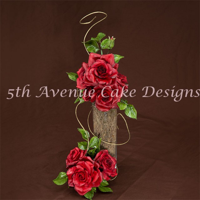 learn how to make gumpaste roses