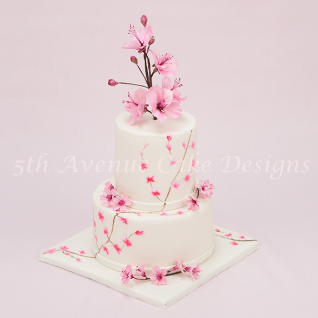 learn how to hand paint flowers on cakes