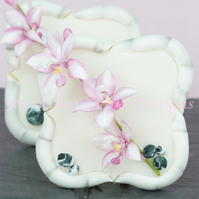 How to make gum paste orchids tutorial
