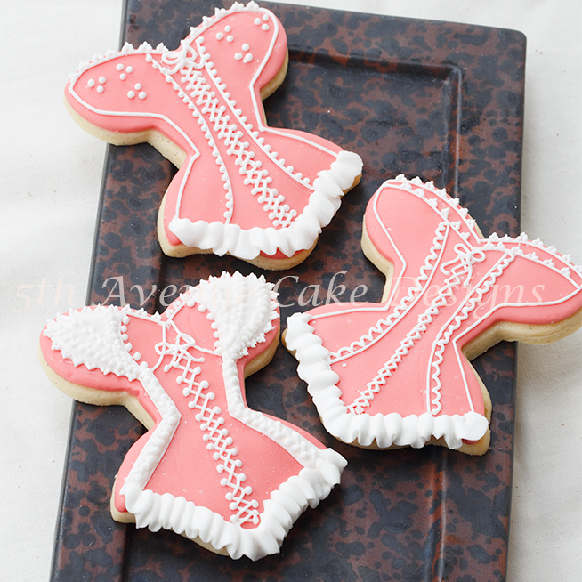 Lace Bridal Shower Cookies