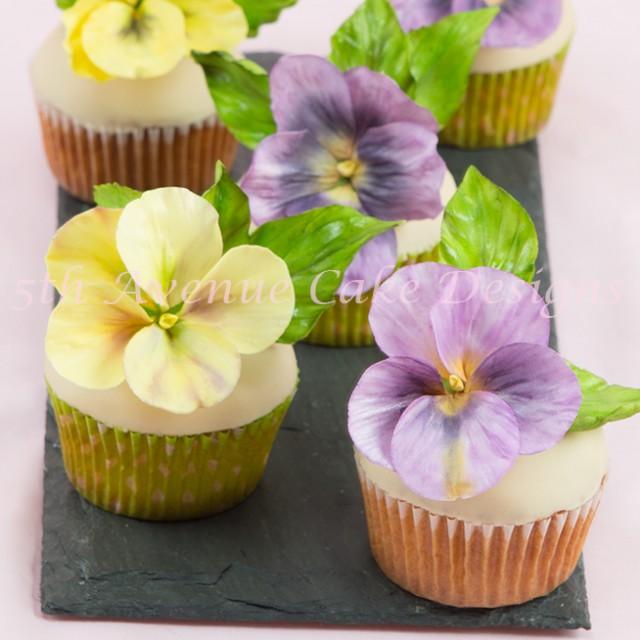 learn how to make gumpaste pansies