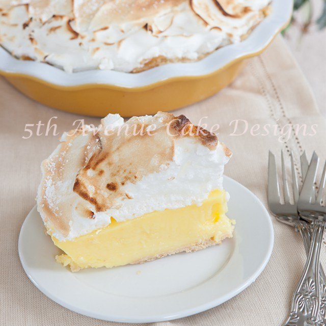how to make lemon meringue pie with lemon curd