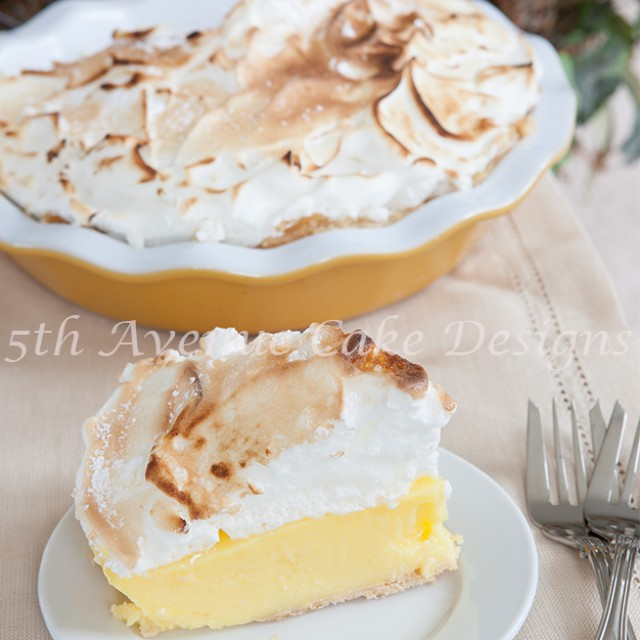 make a lemon meringue pie tutorial