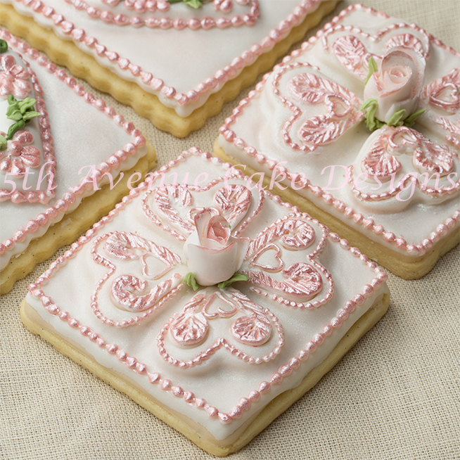 Intricate Icing Cake Design