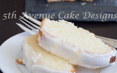 Father's Day Lemon-White Chocolate Madeira Cake