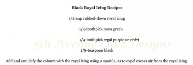 learn the art of royal icing pressure piped swans