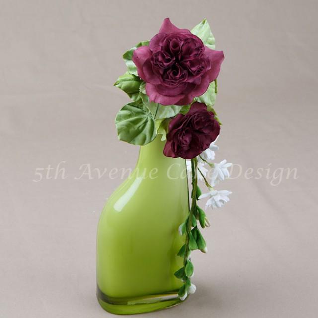 David Austin heirloom sugar rose
