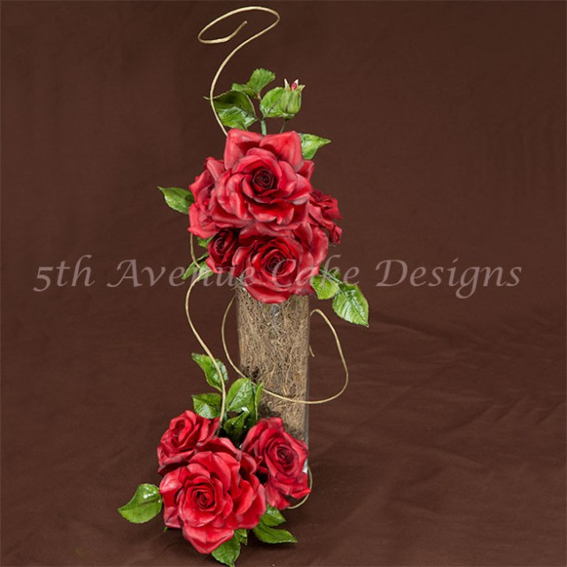 Learn how to make gumpaste rose video-tutorial