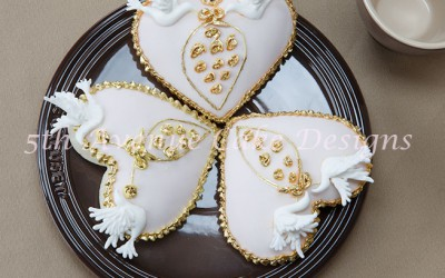 I Give You My Heart Cookies