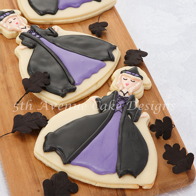Adorable Bewitched Inspired Sugar Cookie