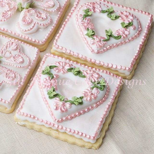 Wedding favor cookies by Bobbie Noto