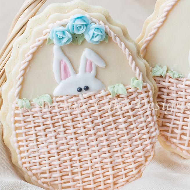 Easter basket cookies by Bobbie Noto
