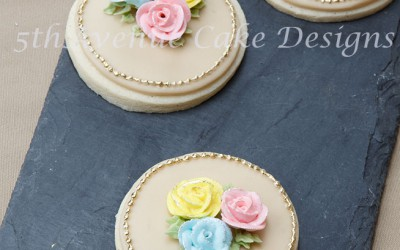 Piping Royal Icing Roses Using The Toothpick Method