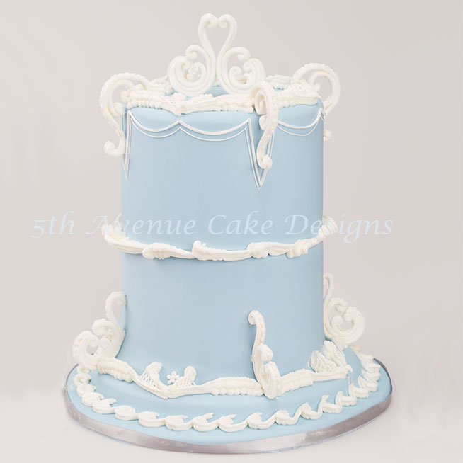 Wedgwood inspired cake by Bobbie Noto