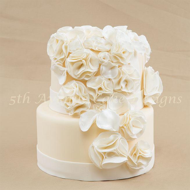 Inspired wedding cake by Bobbie Noto
