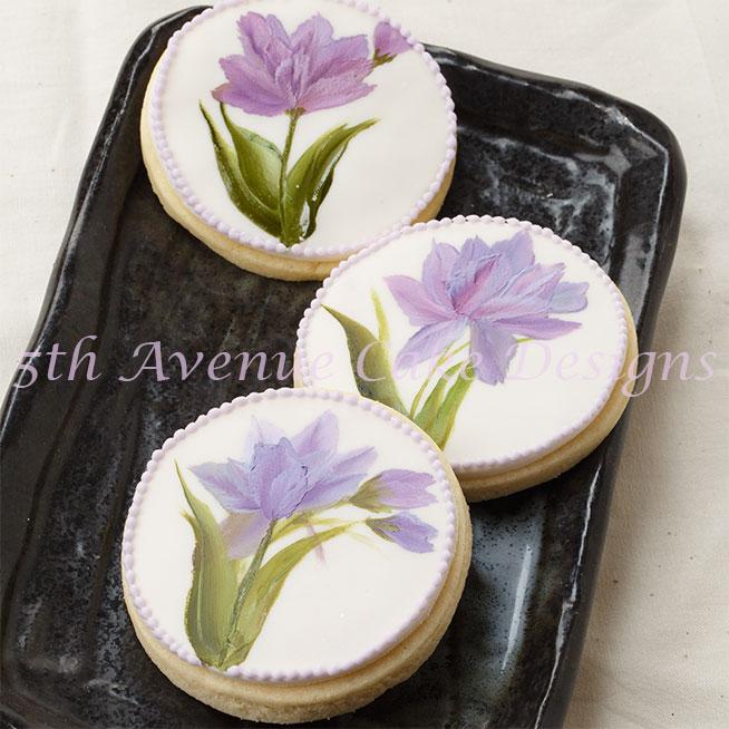 Hand painted cookies by Bobbie Noto