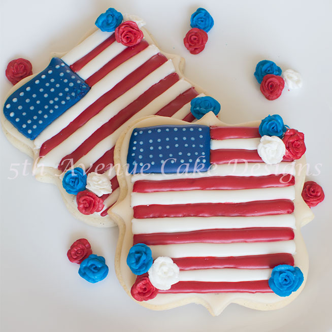 4th of July sugar cookie by Bobbie Noto