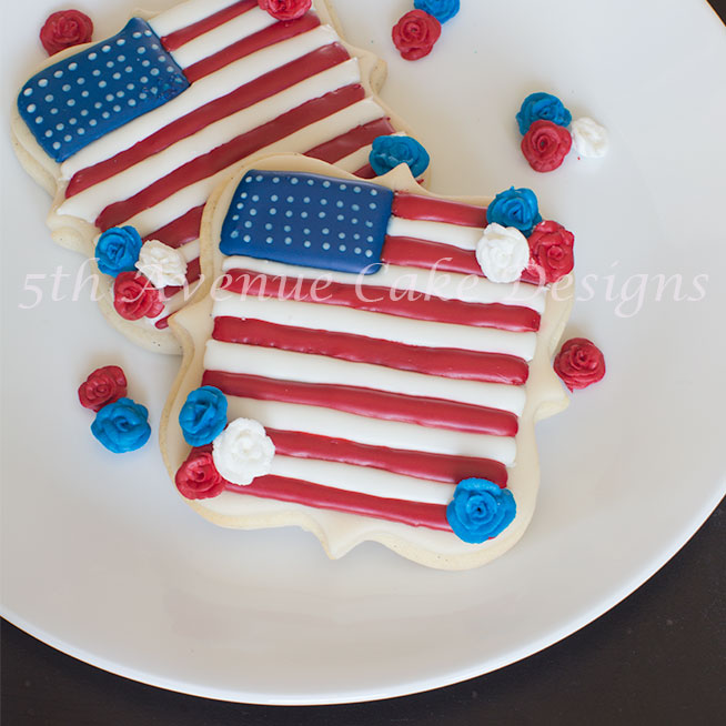 Happy 4th of July cookies by Bobbie Noto