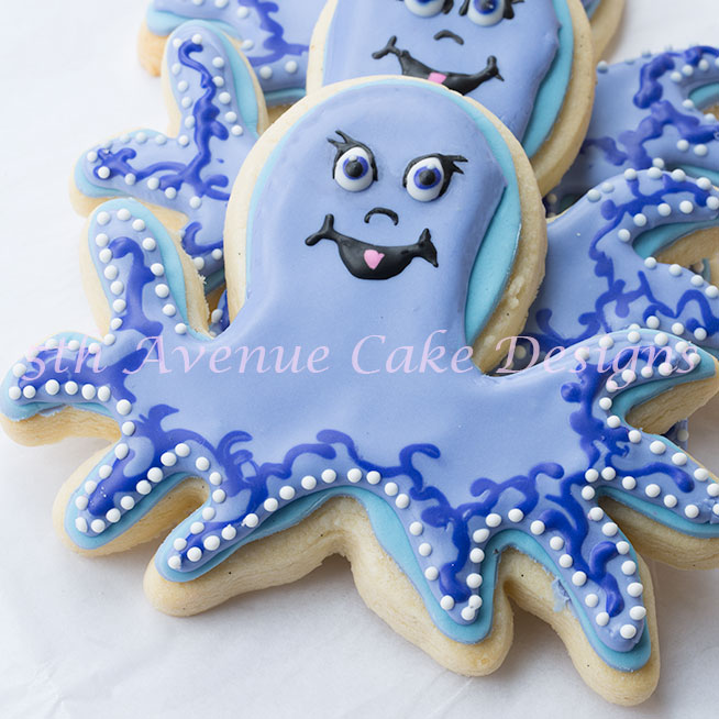 Baby shower cookies by Bobbie