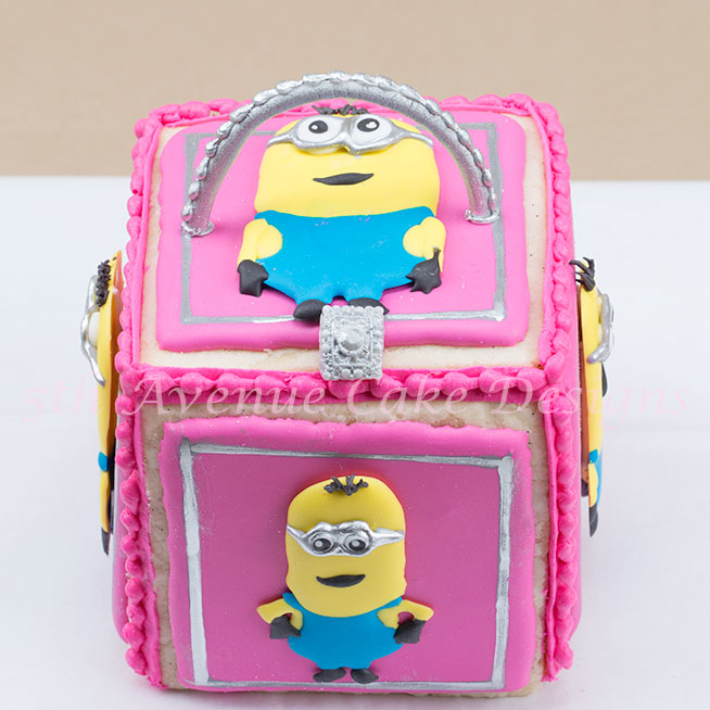 Minion lunch box cookies by Bobbie Noto