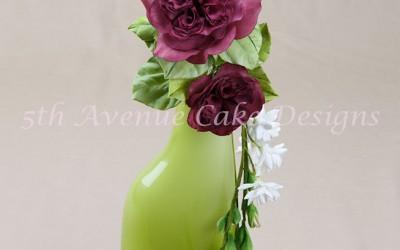 Flower Paste Heirloom English Rose Spray