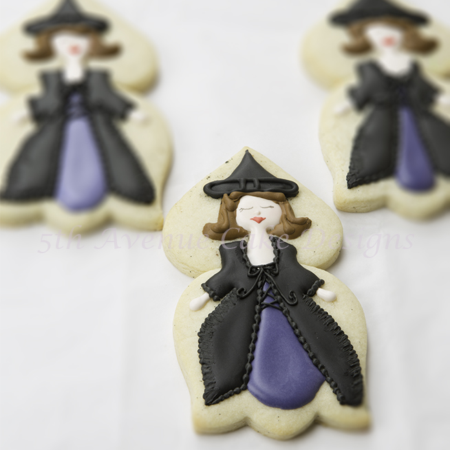 3 witch cookies by Bobbie Noto