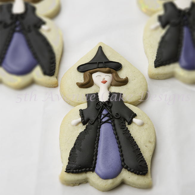 How to Decorate and Create Halloween Witch Cookies