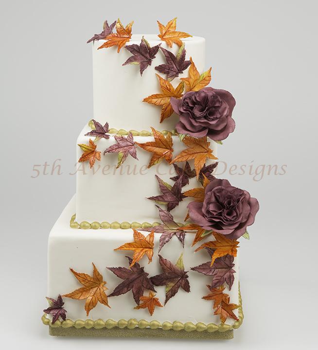 Wedding cake by Bobbie noto