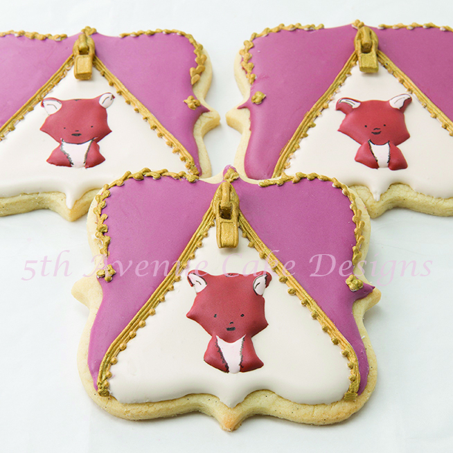 Woodland inspired cookies by Bobbie Bakes