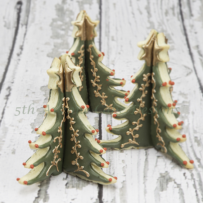 How To Create And Decorate 3-D Christmas Tree Cookie