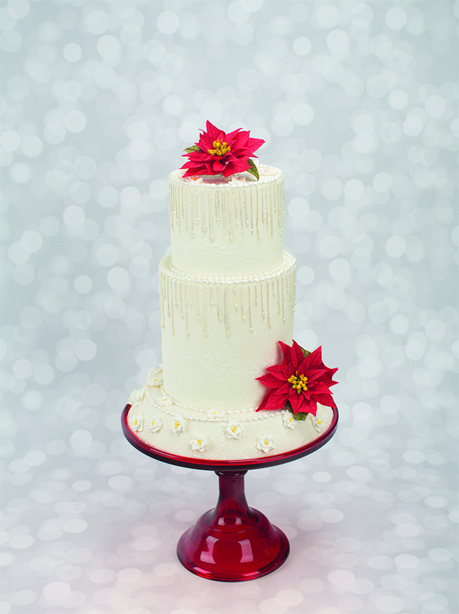 winter wedding cakes designs how to decorate a winter wedding cake with 27559