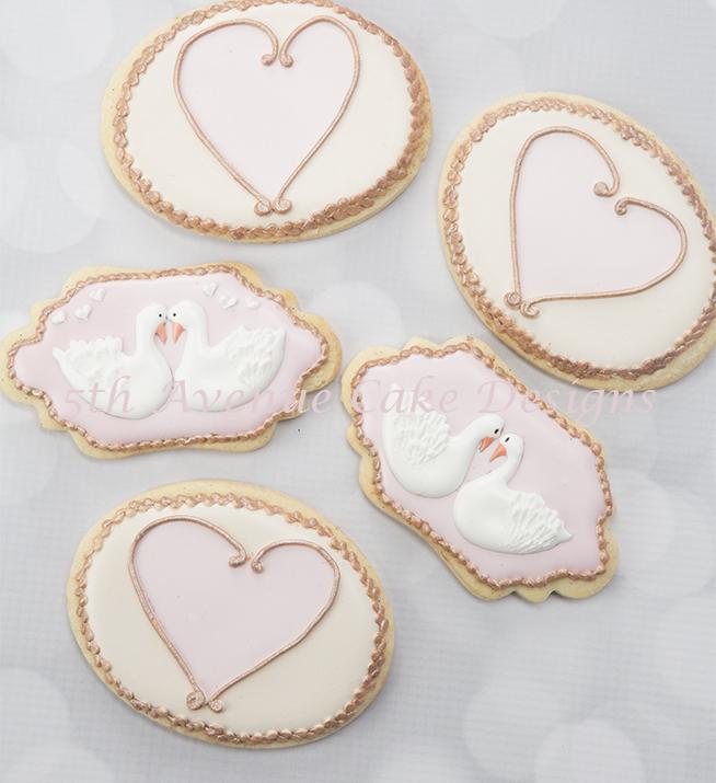 Love Swan cookies
