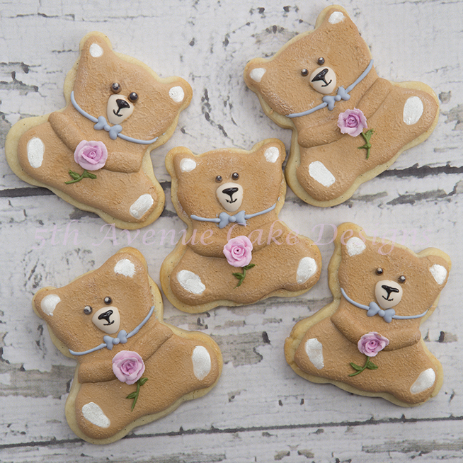 How To Decorate Mini Teddy Bear Cookies