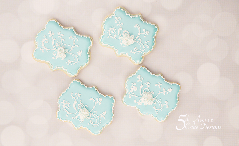 Delicate Filigree Cookie Art Lesson 👰🏻🎩💐